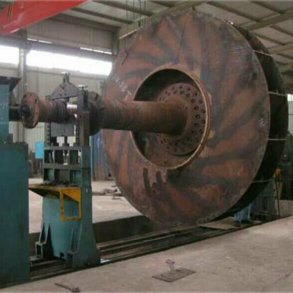 新疆3.2米风机叶轮平衡
